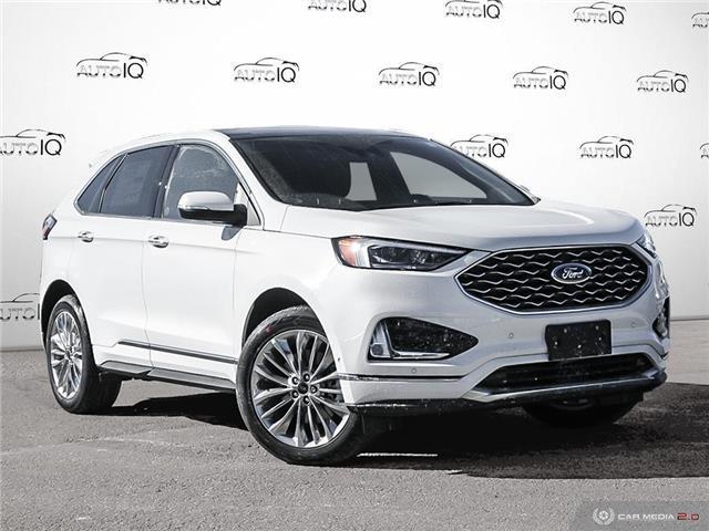 2020 Ford Edge Titanium (Stk: D0D154) in Oakville - Image 1 of 27