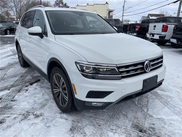 2018 Volkswagen Tiguan Highline (Stk: 21009A) in Cornwall - Image 1 of 29