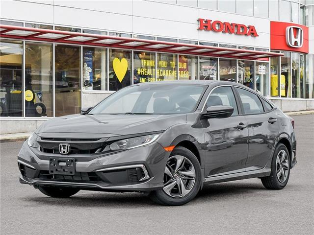 2021 Honda Civic LX (Stk: 3M83540) in Vancouver - Image 1 of 23