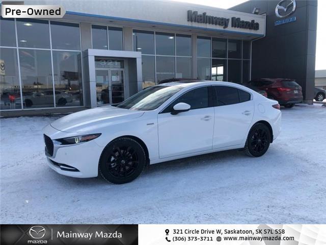 2021 Mazda Mazda3 100th Anniversary Turbo AWD (Stk: P1608) in Saskatoon - Image 1 of 23