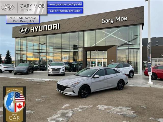 2021 Hyundai Elantra Preferred IVT (Stk: 1EL8056) in Red Deer - Image 1 of 10