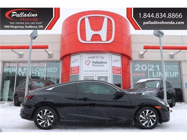 2016 Honda Civic LX (Stk: 22976A) in Greater Sudbury - Image 1 of 30