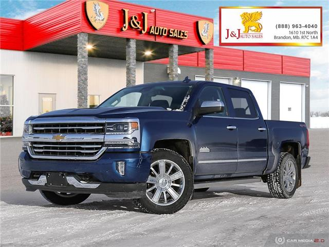 2017 Chevrolet Silverado 1500 High Country (Stk: J2134) in Brandon - Image 1 of 27