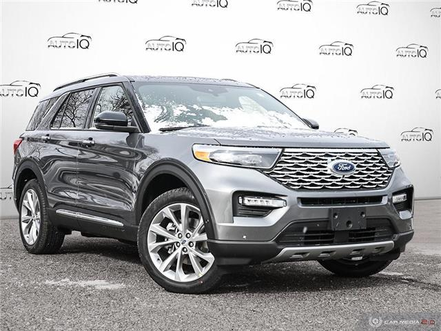 2021 Ford Explorer Platinum Grey