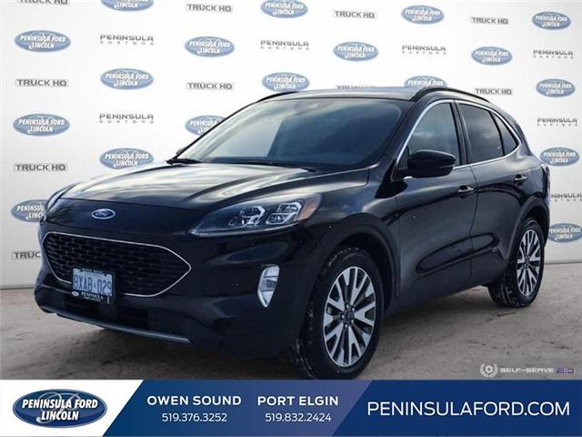 2020 Ford Escape Titanium Hybrid (Stk: 2195) in Owen Sound - Image 1 of 25