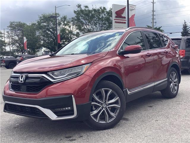 2021 Honda CR-V Touring (Stk: 21302) in Barrie - Image 1 of 28
