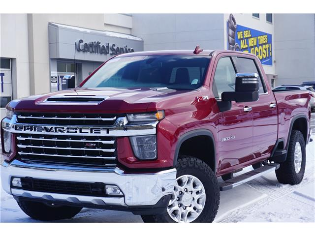 2020 Chevrolet Silverado 3500HD LTZ (Stk: 21-117A) in Salmon Arm - Image 1 of 27