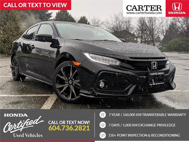 2018 Honda Civic Sport Touring (Stk: 2L01572) in Vancouver - Image 1 of 20