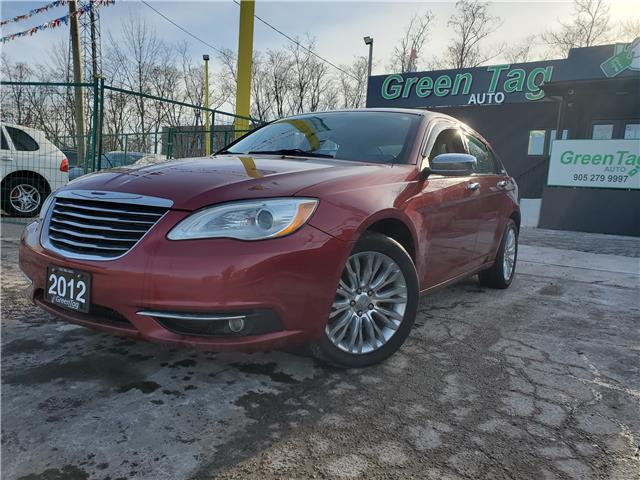 2012 Chrysler 200 Limited (Stk: 5568) in Mississauga - Image 1 of 27