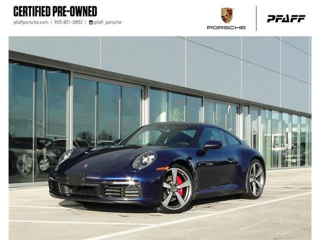 2020 Porsche 911 Carrera 4S Coupe (992) (Stk: U9267) in Vaughan - Image 1 of 21