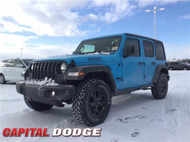2021 Jeep Wrangler Unlimited Sport (Stk: M00261) in Kanata - Image 1 of 23