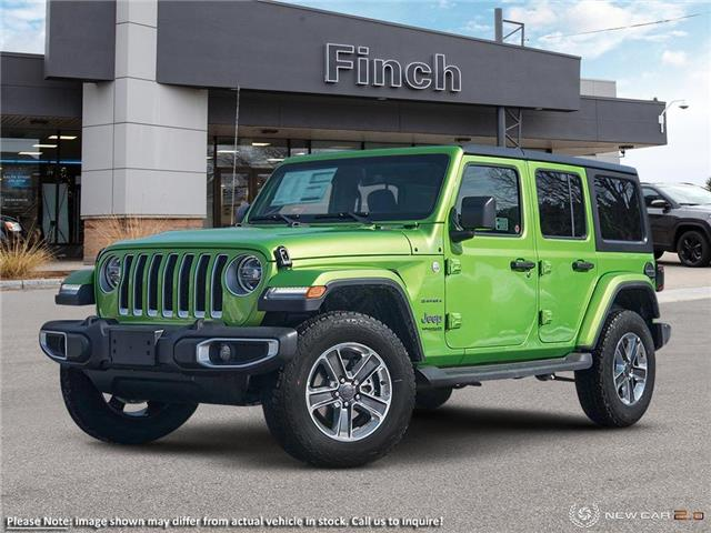2021 Jeep Wrangler Unlimited Sahara (Stk: 100852) in London - Image 1 of 24