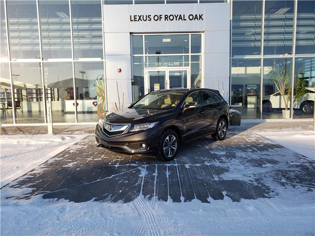 2017 Acura RDX Elite (Stk: L20473A) in Calgary - Image 1 of 21