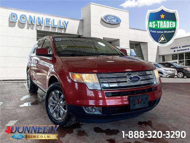 2010 Ford Edge Limited 2FMDK4KC7ABB49382 PBWDT1538A in Ottawa