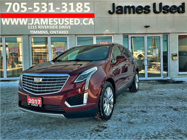 2017 Cadillac XT5 Platinum (Stk: N2165A) in Timmins - Image 1 of 15