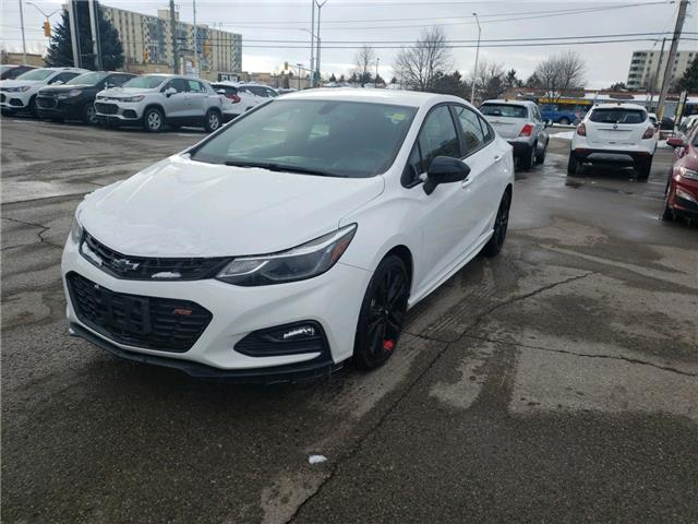 2018 Chevrolet Cruze LT Auto (Stk: 125849) in London - Image 1 of 16