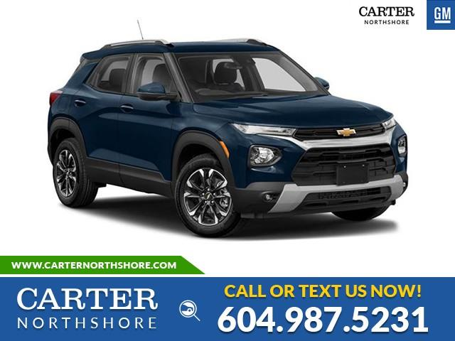 New 2021 Chevrolet TrailBlazer LT WIRELESS CHARGING - HEATED SEATS - REAR PARK ASSIST - North Vancouver - Carter GM North Shore