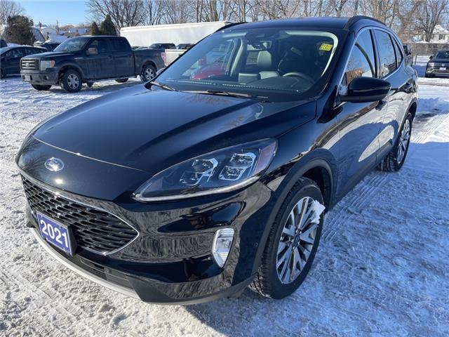 2021 Ford Escape Titanium (Stk: 21045) in Cornwall - Image 1 of 15