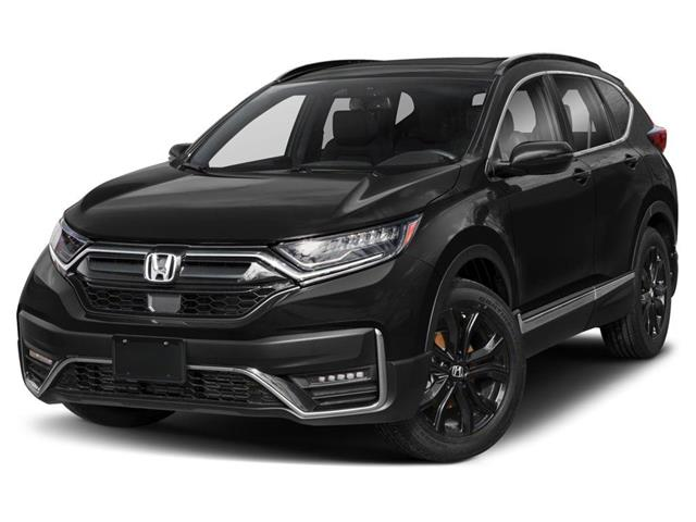 2021 Honda CR-V Black Edition (Stk: M0216) in London - Image 1 of 9