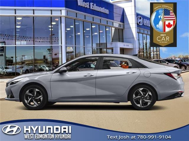 2021 Hyundai Elantra Preferred w/Sun & Tech Pkg (Stk: EL15022) in Edmonton - Image 1 of 1