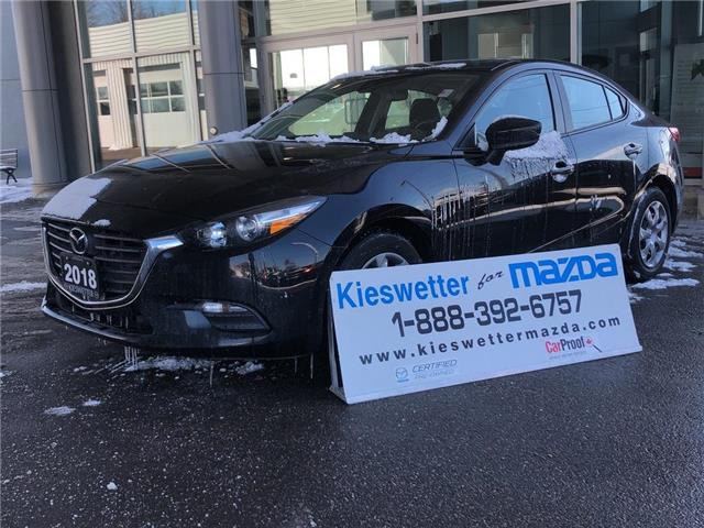 2018 Mazda Mazda3 GX (Stk: 37208A) in Kitchener - Image 1 of 27