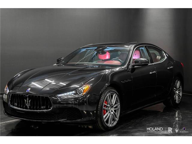 2017 Maserati Ghibli S Q4 3.0L (Stk: ZAM57R) in Montréal - Image 1 of 30