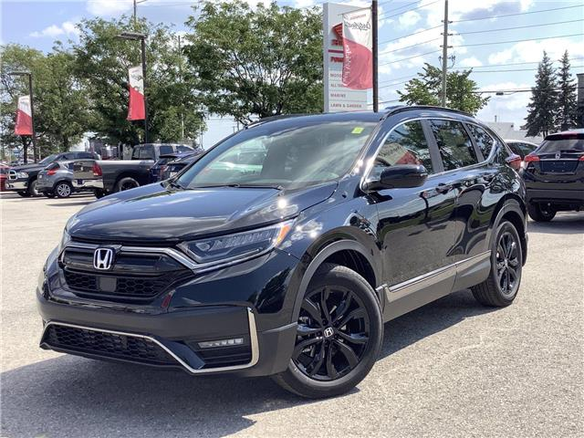 2021 Honda CR-V Black Edition (Stk: 21319) in Barrie - Image 1 of 30