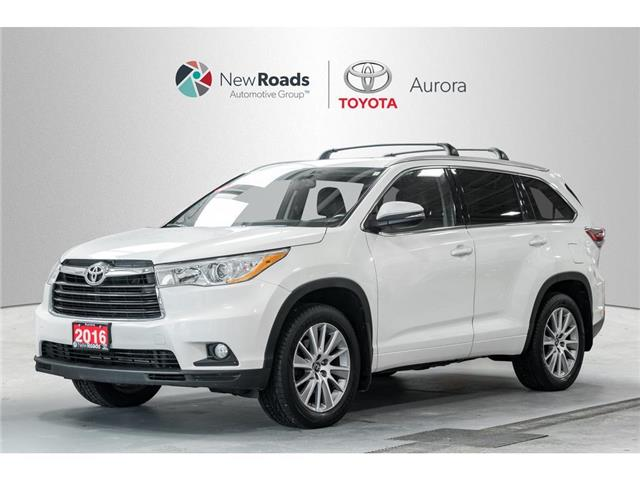 2016 Toyota Highlander  (Stk: 320041) in Aurora - Image 1 of 22