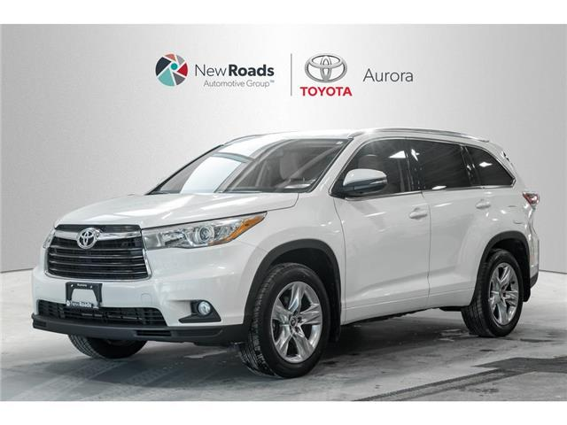 2016 Toyota Highlander  (Stk: 323551) in Aurora - Image 1 of 24