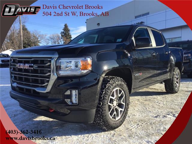 2021 GMC Canyon AT4 w/Leather (Stk: 221785) in Brooks - Image 1 of 19