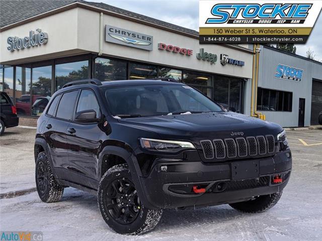 2021 Jeep Cherokee Trailhawk (Stk: 35881) in Waterloo - Image 1 of 16
