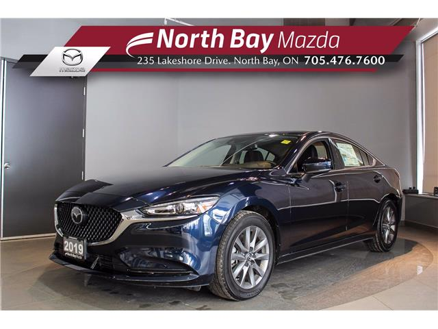 2019 Mazda MAZDA6 GS-L w/Turbo (Stk: 19112) in North Bay - Image 1 of 22