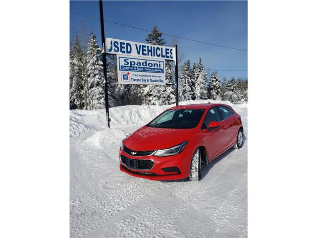 2017 Chevrolet Cruze Hatch LT Auto (Stk: 1200Z) in Terrace Bay - Image 1 of 7