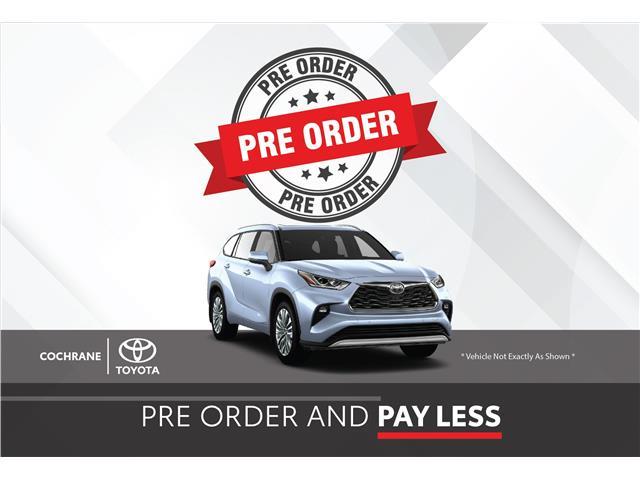 New 2021 - Highlander Platinum AWD  - Cochrane - Cochrane Toyota