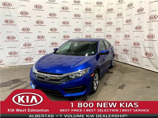 2016 Honda Civic LX (Stk: 22701A) in Edmonton - Image 1 of 19