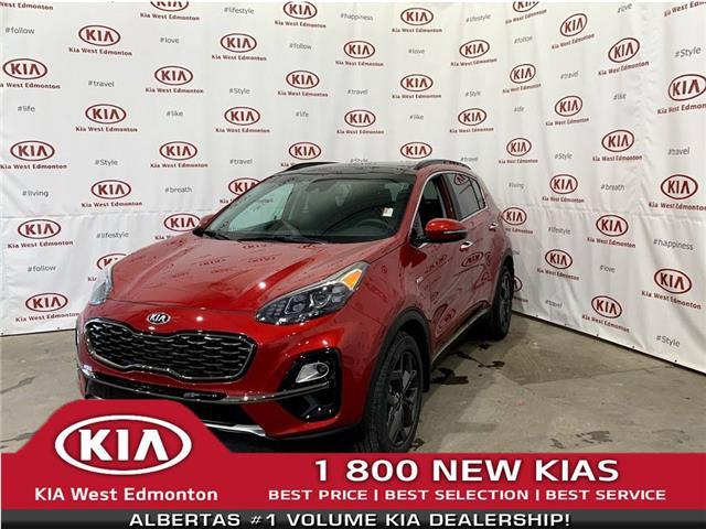 2021 Kia Sportage EX Premium S (Stk: 22808) in Edmonton - Image 1 of 27
