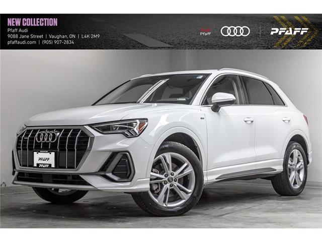2021 Audi Q3 45 Progressiv (Stk: T19277) in Vaughan - Image 1 of 21