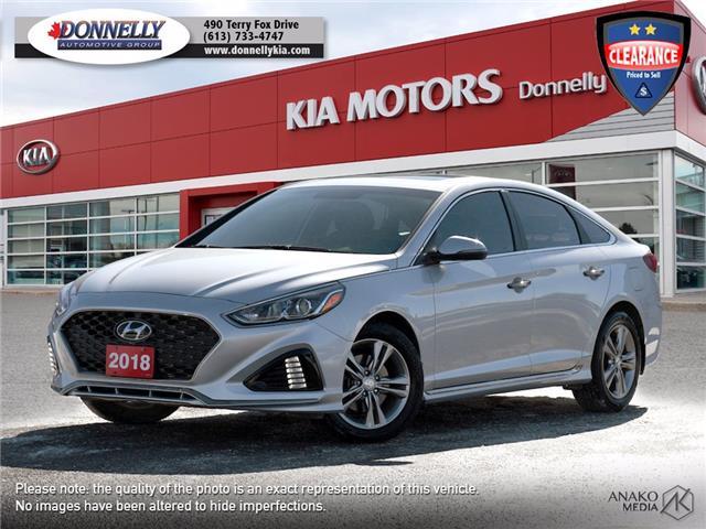 2018 Hyundai Sonata  (Stk: KU2462A) in Ottawa - Image 1 of 28