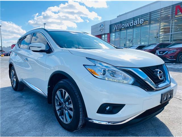 2017 Nissan Murano SV (Stk: C35753) in Thornhill - Image 1 of 19