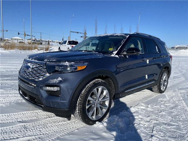 2021 Ford Explorer Platinum (Stk: MEX023) in Fort Saskatchewan - Image 1 of 22