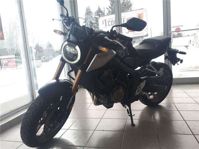 2019 Honda CB650RA MOTORCYCLE (Stk: 11192B) in Brockville - Image 1 of 9