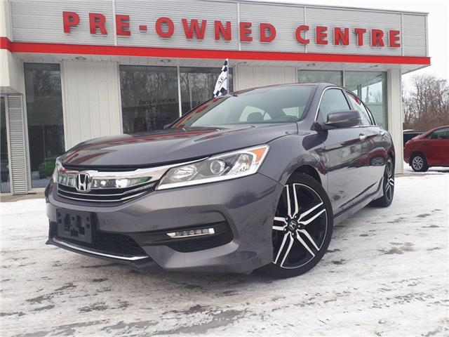 2017 Honda Accord Sport (Stk: 11192A) in Brockville - Image 1 of 30