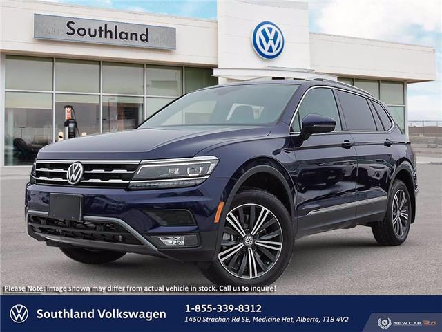 2021 Volkswagen Tiguan Highline (Stk: M21069) in Medicine Hat - Image 1 of 23
