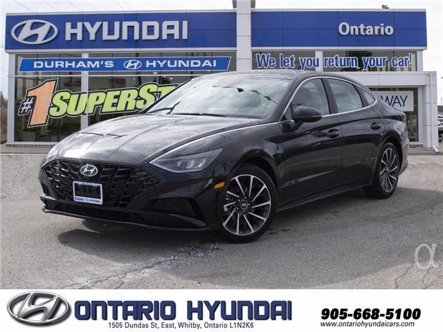 2021 Hyundai Sonata Sport (Stk: 111243) in Whitby - Image 1 of 22