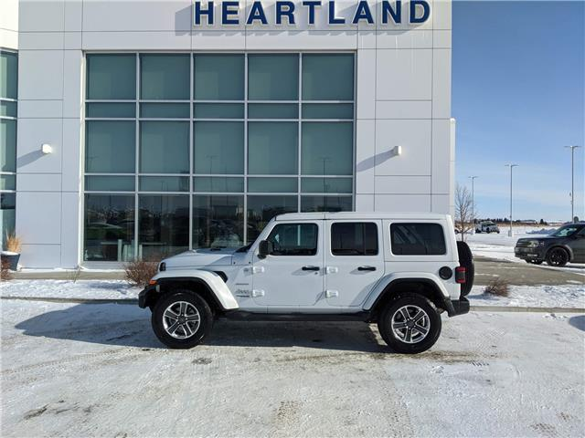 2018 Jeep Wrangler Unlimited Sahara (Stk: LED037A) in Fort Saskatchewan - Image 1 of 31