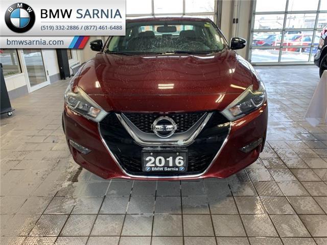 2016 Nissan Maxima SR (Stk: SFC2891) in Sarnia - Image 1 of 10