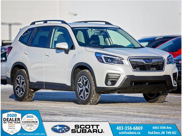 2021 Subaru Forester Touring (Stk: 477582) in Red Deer - Image 1 of 17