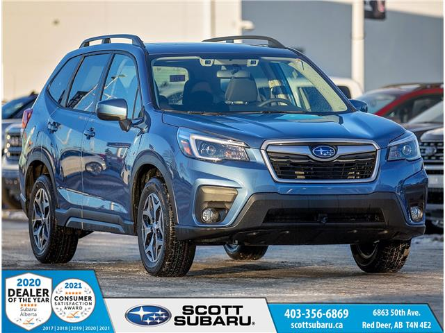 2021 Subaru Forester Touring (Stk: 425005) in Red Deer - Image 1 of 17