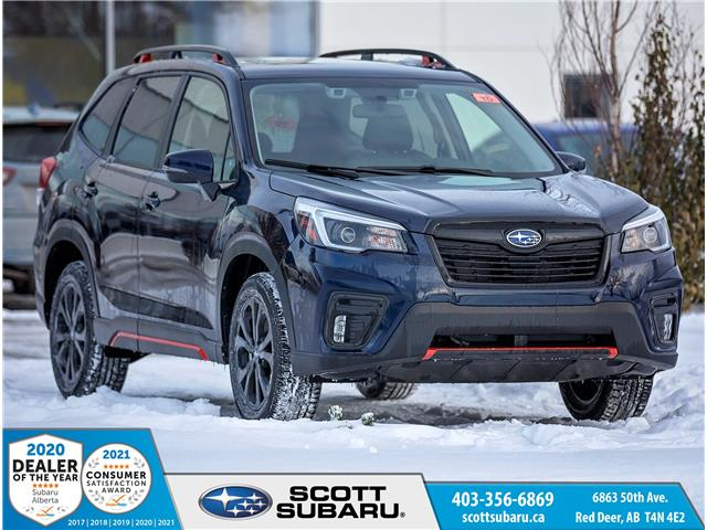 2021 Subaru Forester Sport (Stk: 412941) in Red Deer - Image 1 of 19