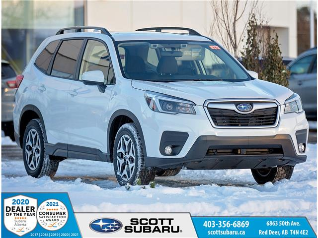 2021 Subaru Forester Convenience (Stk: 416838) in Red Deer - Image 1 of 21